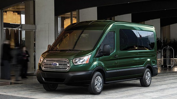 2016 Ford Transit green