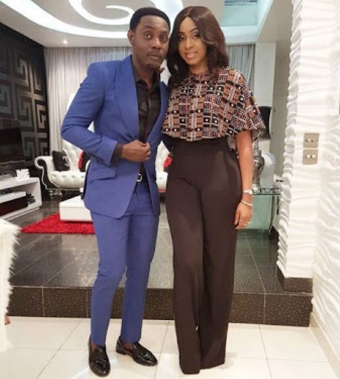 SEE Cute Photos Of Comedian AY And Wife As They Step Out