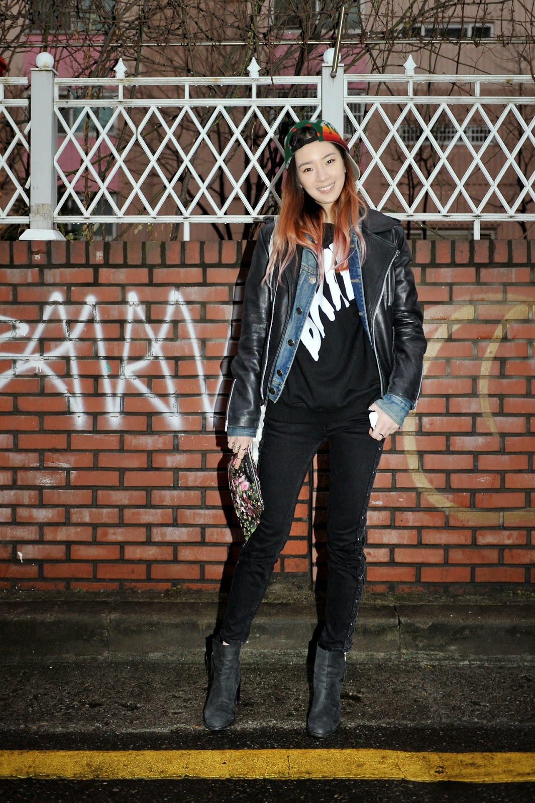 Street style Korean outfits for teenage girls - Girlcheck |Korean Street Fashion 2014 For Girls