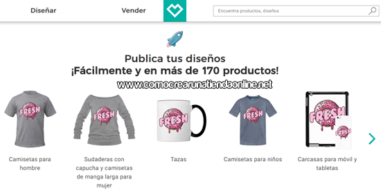 Productos de Spreadshirt