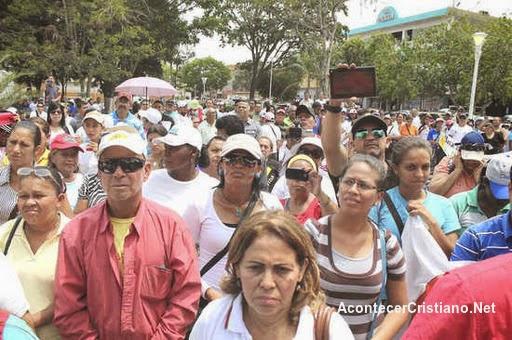 Marcha por una familia con valores venezuela