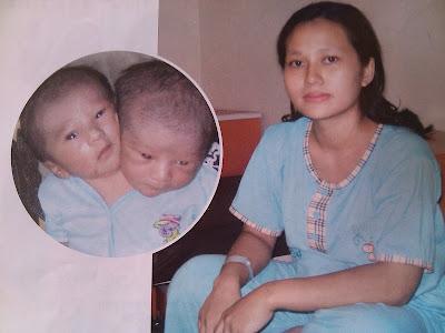 bayi dan ibunya