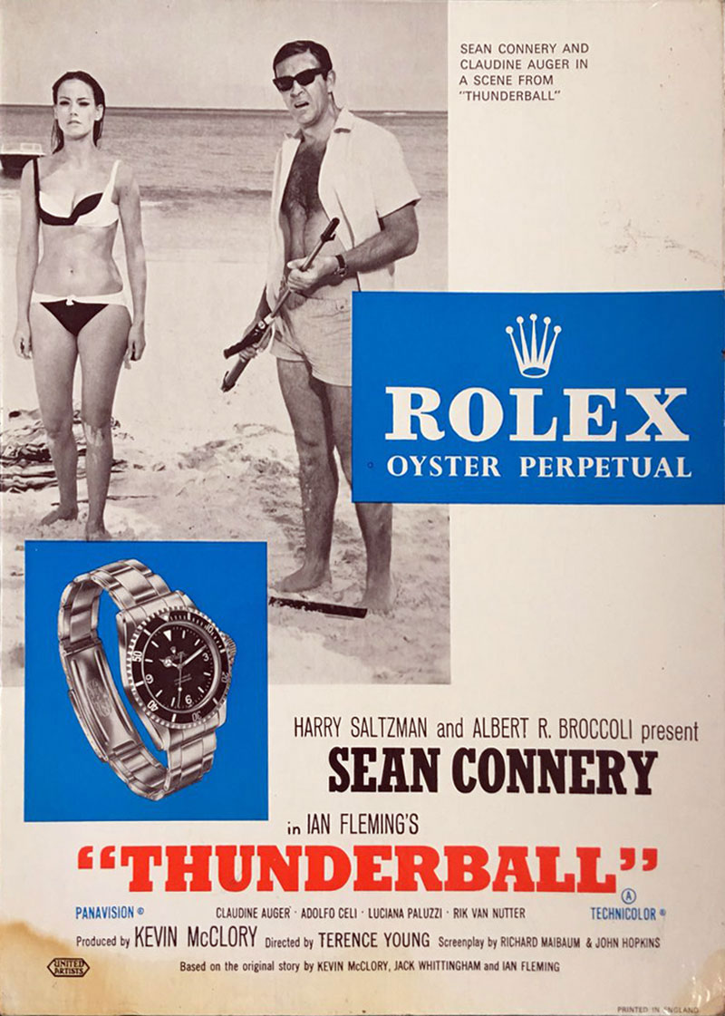 Probaby real/probably fake Rolex TB ad (Page 1) - James Bond