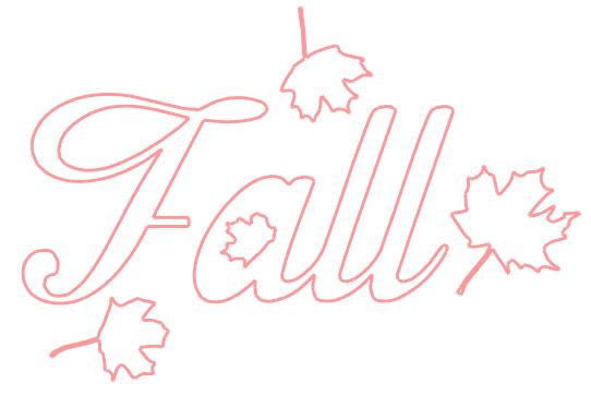 free fall leaves silhouette printable