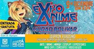 EXPO ANIME CIUDAD BOLÍVAR