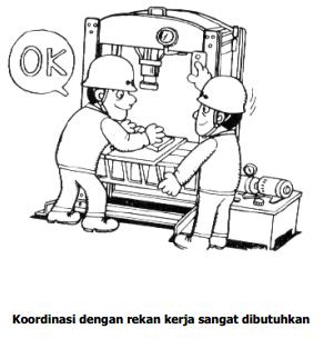 Bekerja Aman Menggunakan Press Work (Alat Penekan)