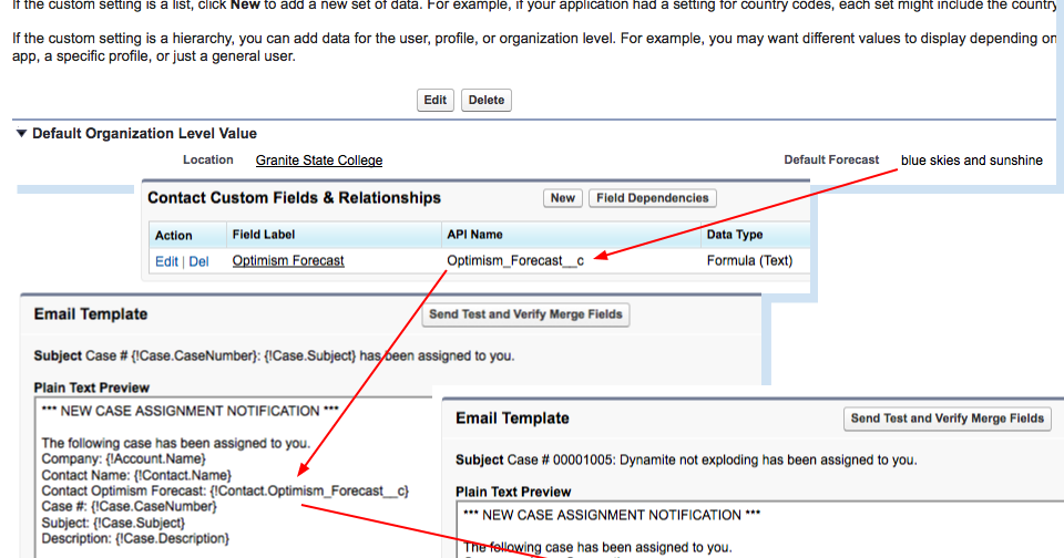 Highway to Concord: Custom setting values in Salesforce