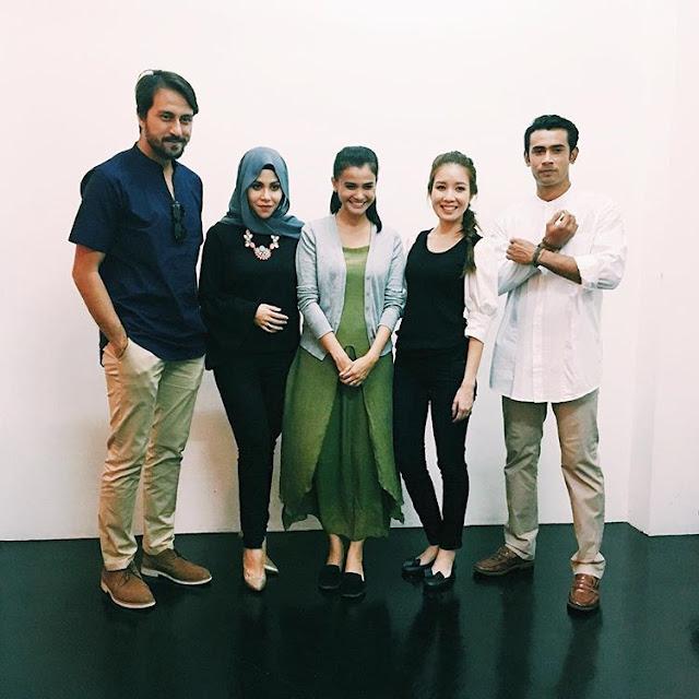 Bront Palarae, Aisya Hasnaa, Ezzaty Abdullah, Megan Tan dan Remy Ishak