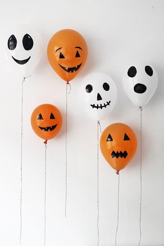 Globos para decorar tu hogar en Halloween