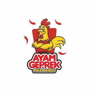 Maskot Ayam Geprek Maz Bagus