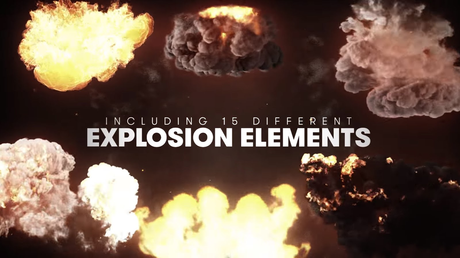 40 FREE Explosion SFX and VFX Elements | Computer Graphics Daily News