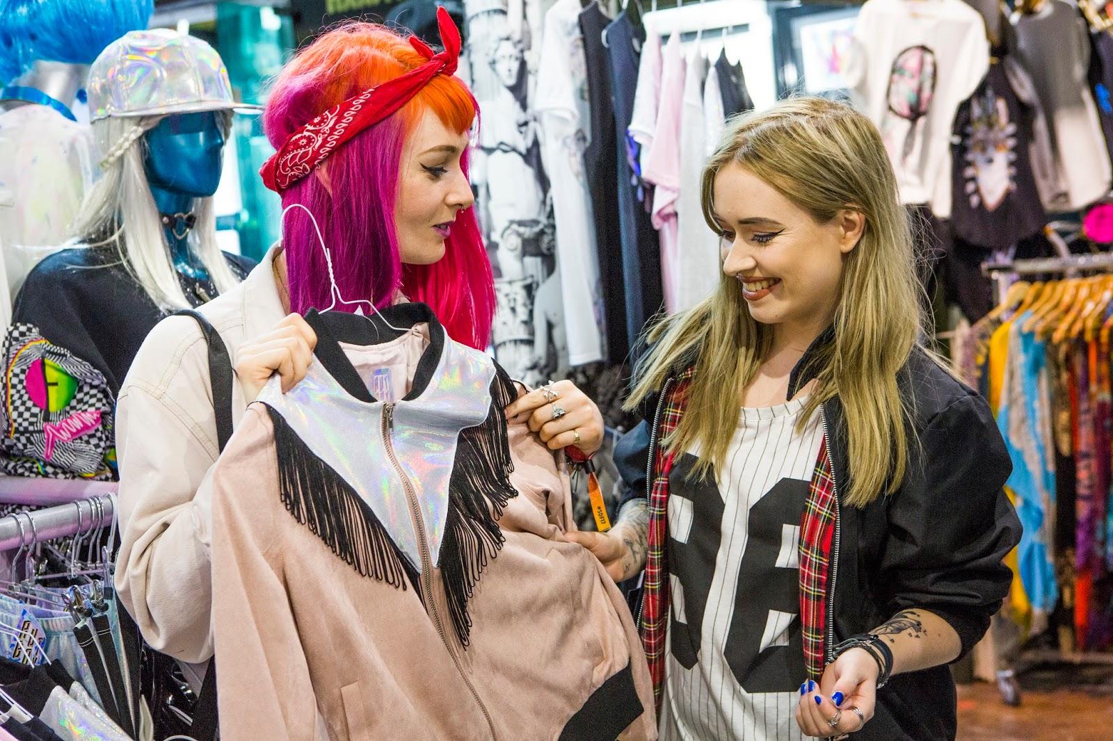 Fashion Blogger Lucy Love explores Camden Market