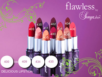 Art. 400/409-434/435 - DELICIOUS LIPSTICK - CC 0,073