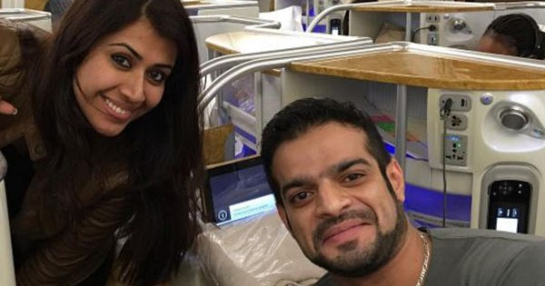 Karan patel s special gift for his wife ankita on her birthday