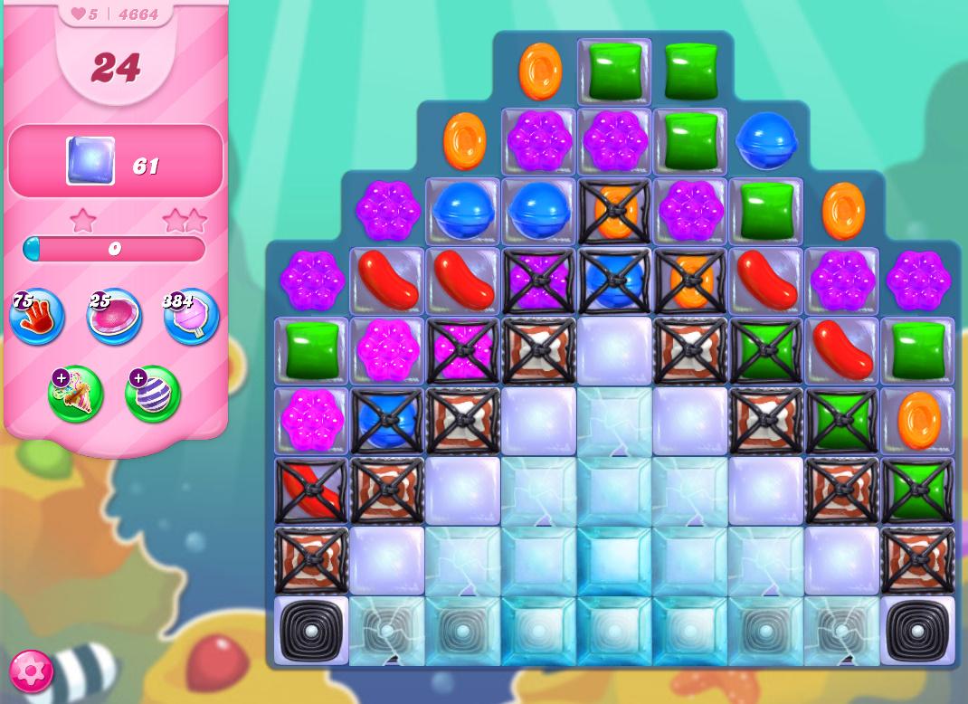 Candy Crush Saga level 4664