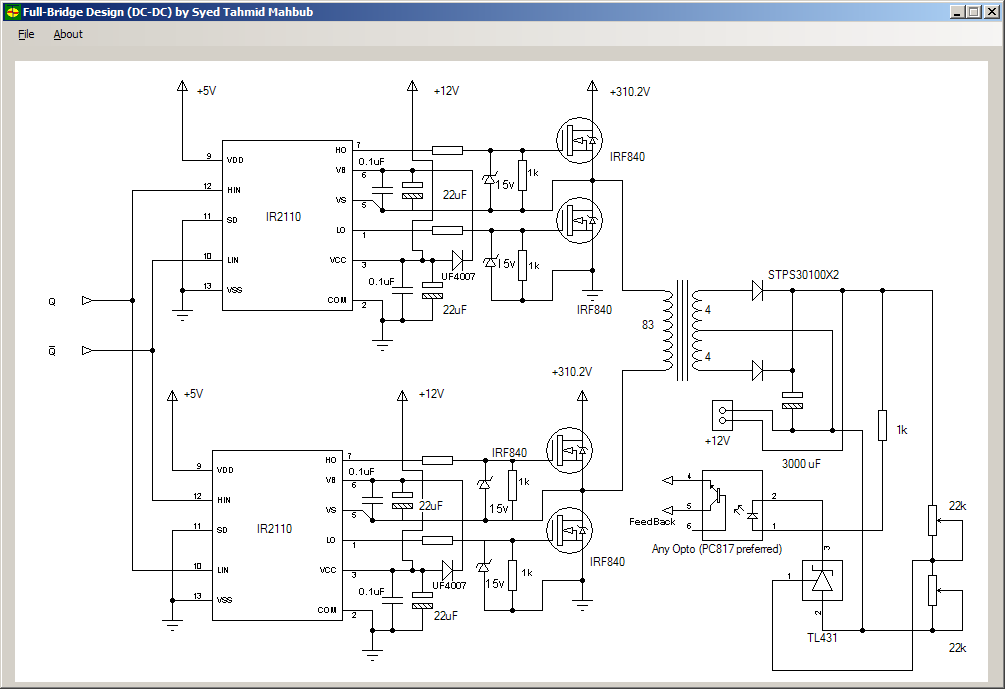 Sg3525 Smps Circuit Diagram