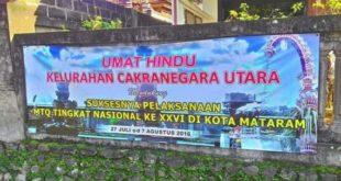 Umat Hindu Lombok Sambut MTQ Nasional - Umat Hindu Pun Ikut Sambut MTQ Nasional.jpg