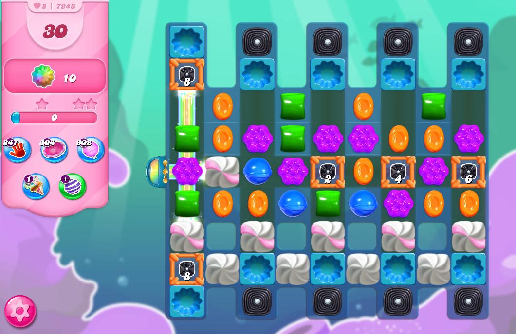 Candy Crush Saga level 7943