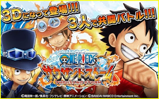 One Piece Thousand Storm v1.1.3 Apk Full version