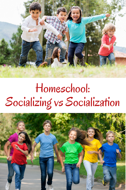 Homeschool: Socialization vs Socializing