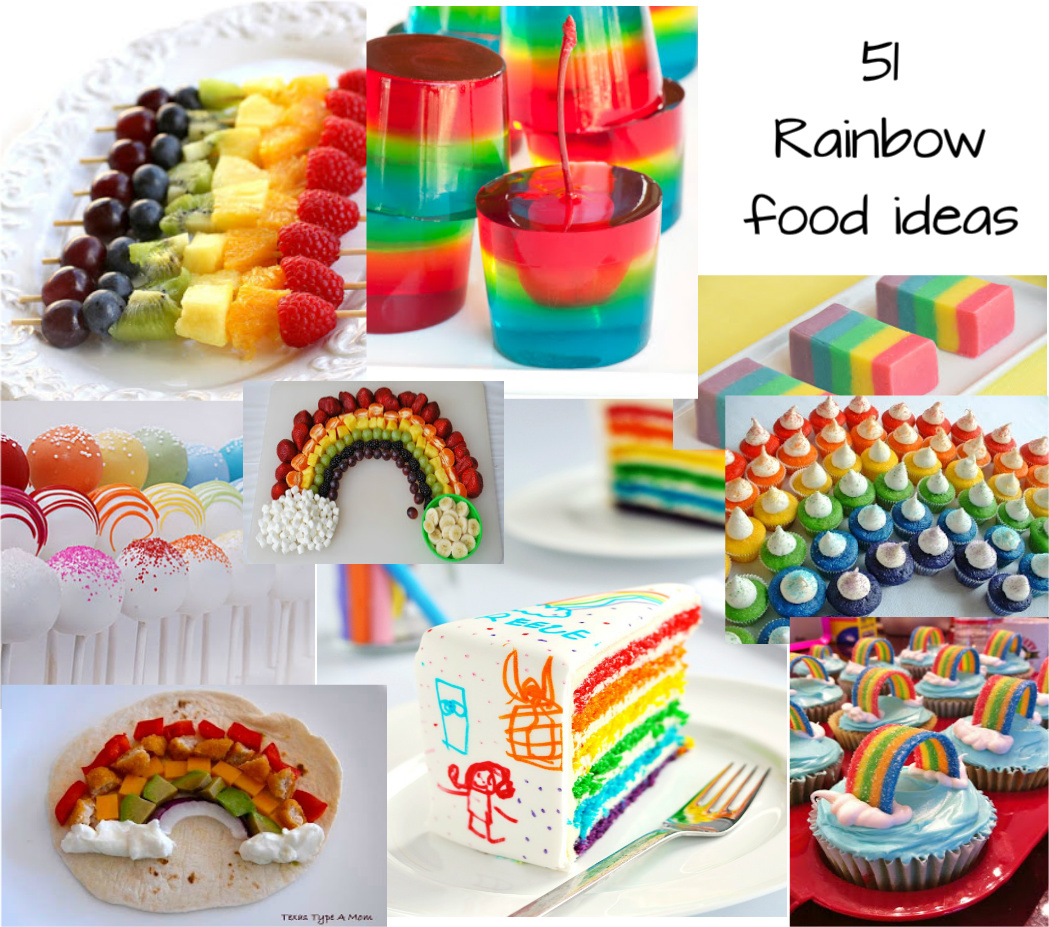 Cute Food For Kids?: 51 Rainbow Food Ideas For St. Patrick