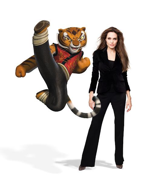Angelina Jolie Voices Tigress In Kung Fu Panda 2 The Web Magazine