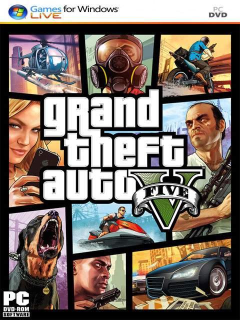 تحميل لعبة GTA V مضغوطة برابط واحد مباشر + تورنت كاملة مجانا