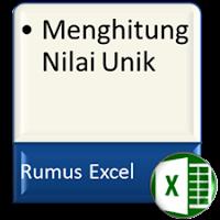 Formula Excel Hitung Banyaknya Nilai Unik