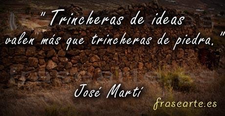 Citas famosas de José Martí