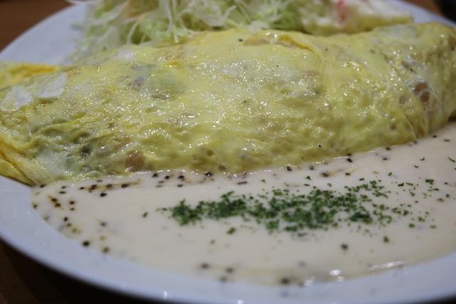 Omelette Rice in Tokyo