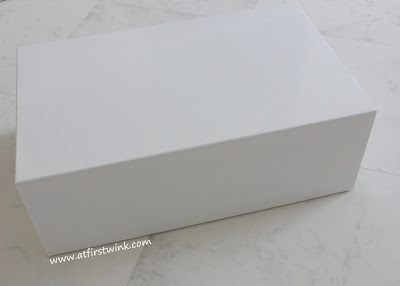 White box inside of the Glamour Surprise Box