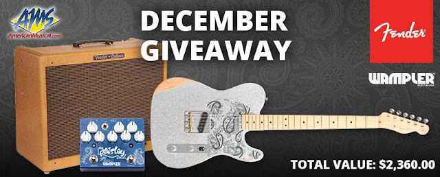 Brad Paisley Fender Guitar Giveaway ~ Sweepstaking net - A one stop