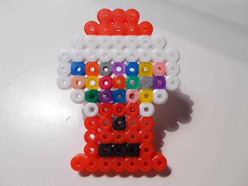 distributeur de bonbons perles hama