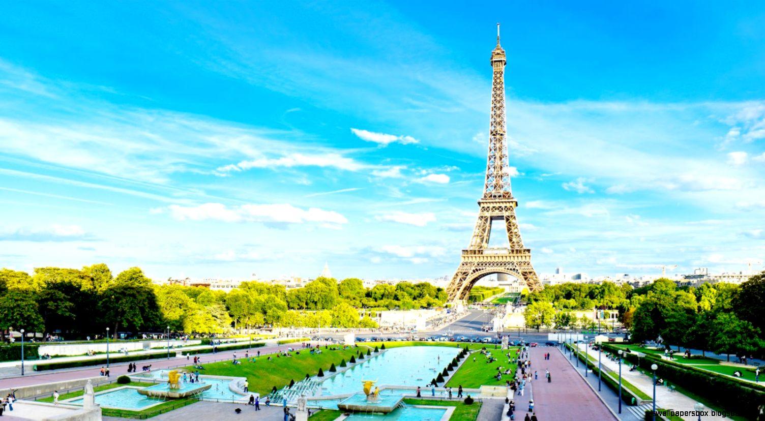 Landscape Wallpaper Paris Love City Hd Wallpapers