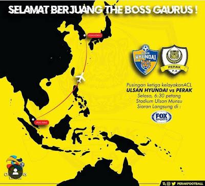Live Streaming Ulsan Hyundai FC vs Perak FA