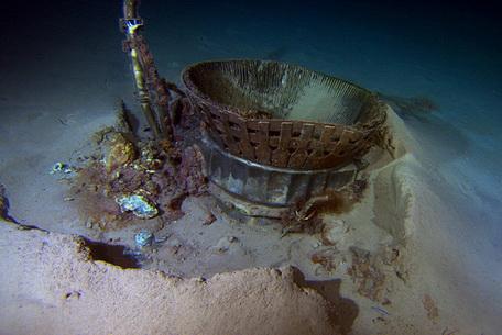 Enjin Roket Apollo F-1 Ditemui Di Dasar Laut Atlantik