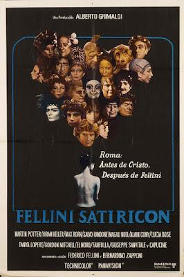 Satyricon de Fellini (1969)