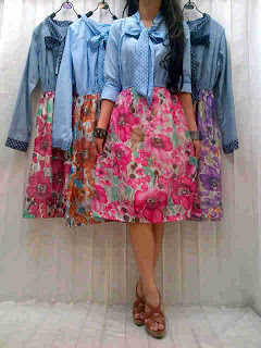 Flowly Blue Jeans fit to L