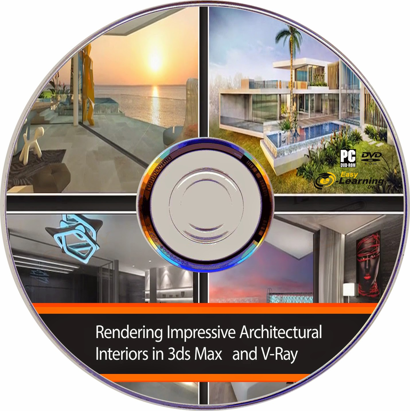 Rendering Impressive Interiors in 3ds Max and V-Ray Video Training DVD