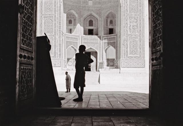 Ouzbékistan, Boukhara, médersa Mir-i-Arab, © Louis Gigout, 1999