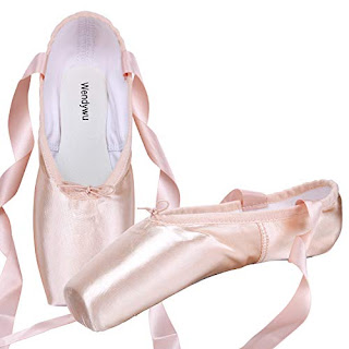 USA Women Children Professional Satin Ballet Pointe Shoes Gel Silicone Toe Pads