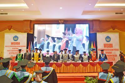 IKIP Mataram Wisuda 636 Mahasiswa