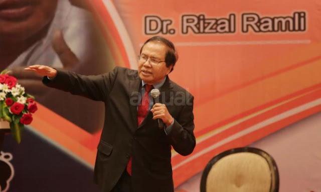 Soal Freeport, Dua Saran Rizal Ramli yang Diabaikan Presiden Jokowi