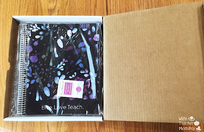 Unboxing the Plum Paper Large Teacher Planner