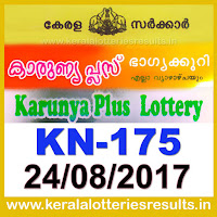 keralalotteries, kerala lottery, keralalotteryresult, kerala lottery result, kerala lottery result live, kerala lottery results, kerala lottery today, kerala lottery result today, kerala lottery results today, today kerala lottery result, kerala lottery result 24.8.2017 karunya-plus lottery kn 175, karunya plus lottery, karunya plus lottery today result, karunya plus lottery result yesterday, karunyaplus lottery kn175, karunya plus lottery 24.8.2017