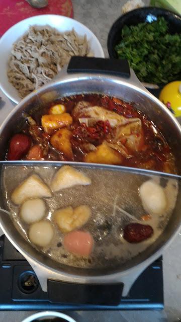 Fondue Chinoise ou 火鍋huǒguō