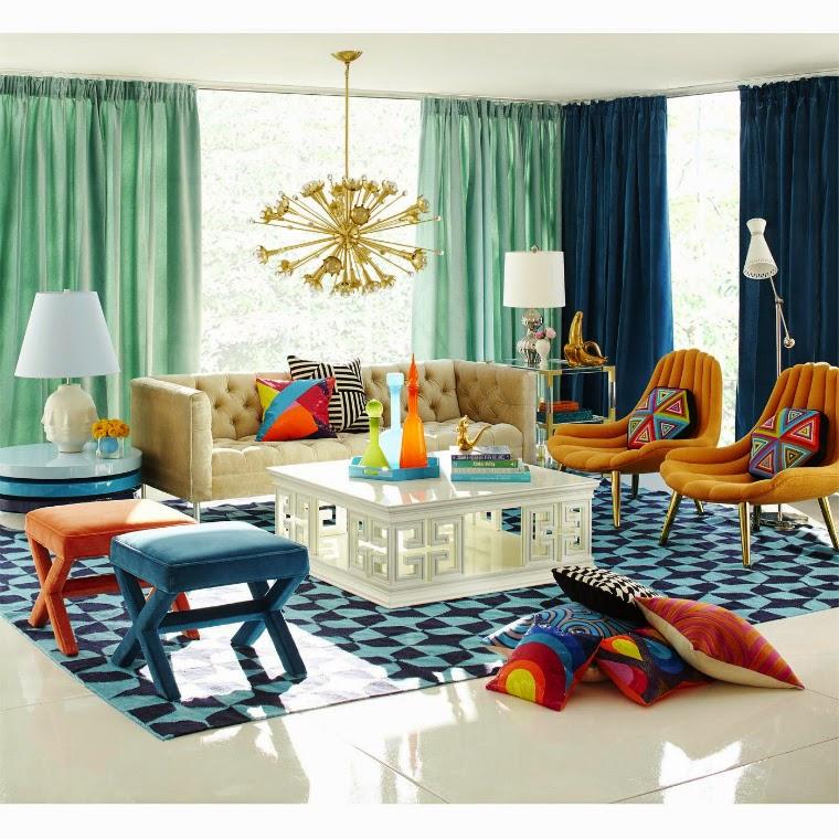 Decorar sala con alfombra