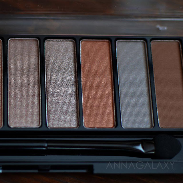 Rimmel Magnif'eyes Nude Edition Eye Palette коричневые оттенки