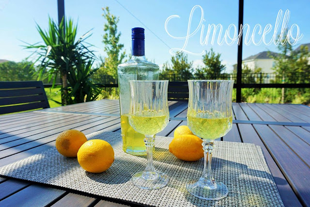 lemons, italia, italy, liquor