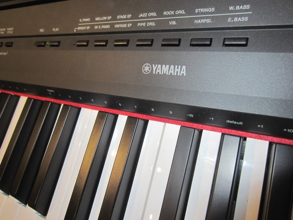az piano reviews review yamaha p115 p45 digital piano recommended. Black Bedroom Furniture Sets. Home Design Ideas
